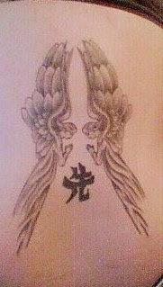 Twin Angel Tattoo