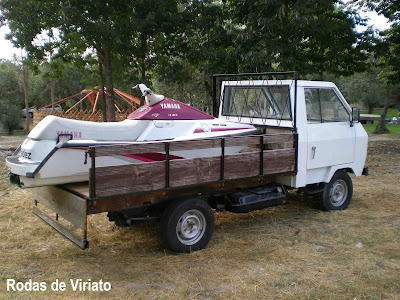 Datsun Sado - Feira de col. e do veículo antigo