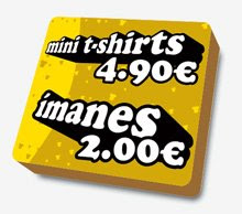 Mini T- Shirts / Imanes
