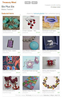 etsy handmade treasury