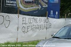 grafiti de carlos munera