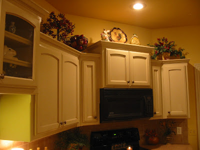 Kitchen Cupboard Tops kitchen cabinet top decoration ideas home decoration ideas