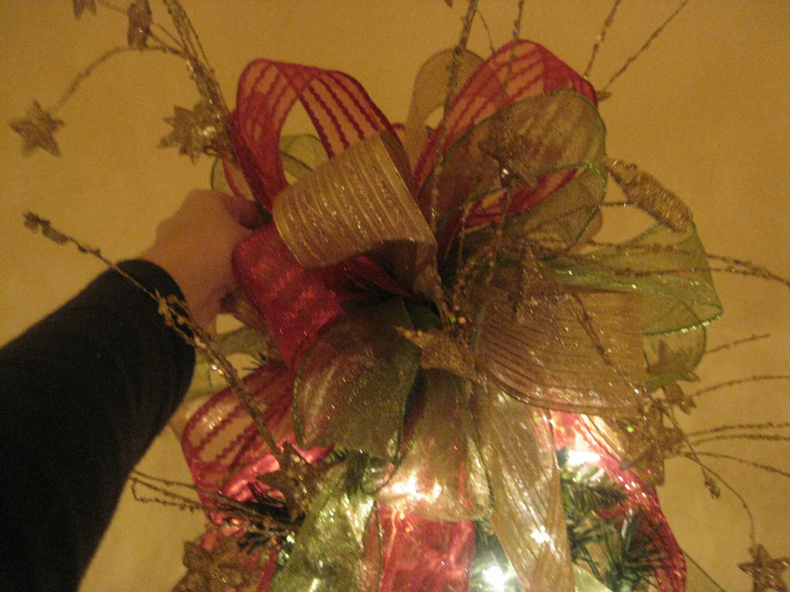 kristen 39 s creations how to make a tree topper bow tutorial
