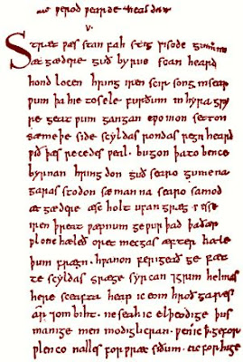 Beowulf manuscript, British Museum copy