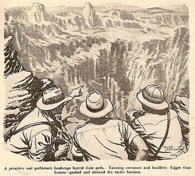 A Wide World story on the discovery of Angel Falls, near Conan Doyle's own real-life 'Lost World' Venezuela plateau