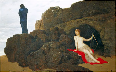 Far from home: Boecklin's painting of Ulysses with the sea-nymph Calypso