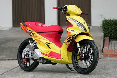 suzuki hayate 1 SCOOTER TREND MODIFY 2009