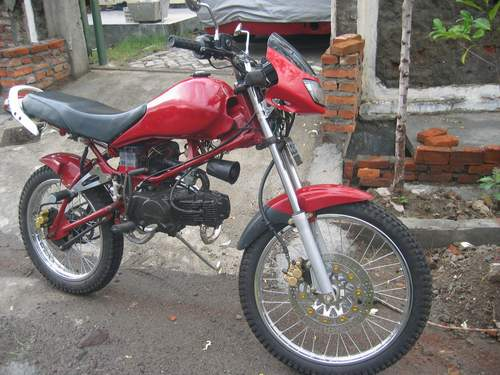 Modifikasi Honda Red Win 2003