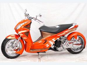 Gambar Modifikasi Suzuki Skywave 2008