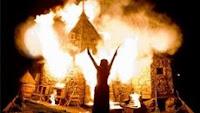 Cenário de 'Harry Potter e as Relíquias da Morte' pega fogo durante gravações