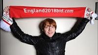 Intéprete de Rony Weasley apoia a Inglaterra para sediar a Copa de 2018
