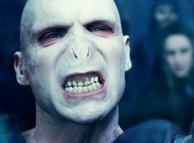 Lord Voldemort é considerado um dos '17 personagens mortais, porém charmosos'
