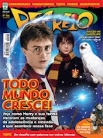 Matéria sobre 'Harry Potter' na nova edição da Revista Recreio