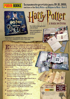 'Harry Potter: A Magia do Cinema' será lançado no Brasil em novembro!   Ordem da Fênix Brasileira