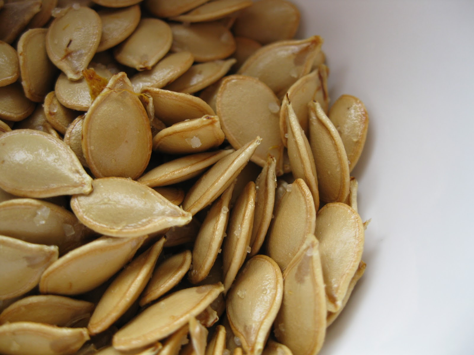 like these even better than pumpkin seeds - they're a little more ...