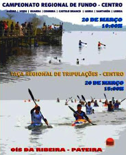 CAMPEONATO DO CENTRO E TAÇA DE TRIPULAÇÕES DE CANOAGEM