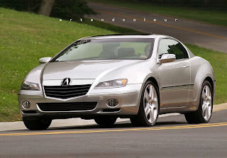 Acura News on Acura Legend Coupe Chop From 2007  Besides The New Grille Treatment I