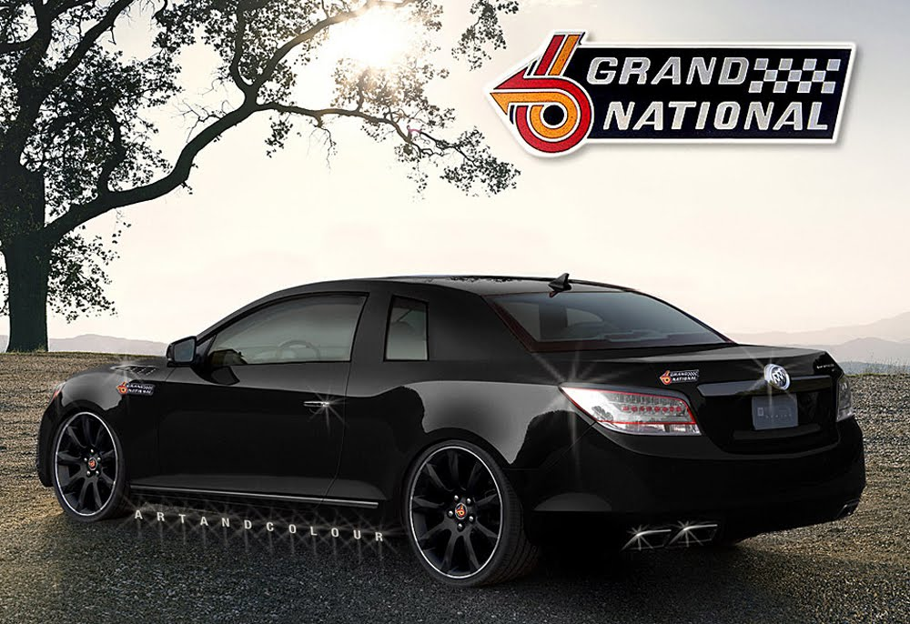 New Buick Regal Grand National