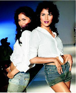 INDIAN SUPER MODELS TAPUR & TUPUR CHATTERJEEE
