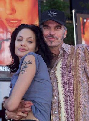 Billy Thornton y Angelina Jolie