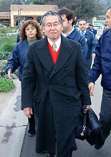 Alberto Fujimori extraditado