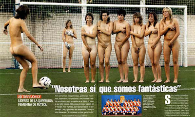 desnudas y deportistas