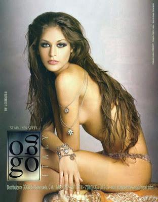 Dayana Mendoza, Señorita Universo desnuda