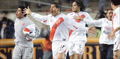 Fano celebra su gol