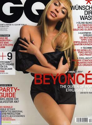 Beyonce en la portada de GQ -Alemania