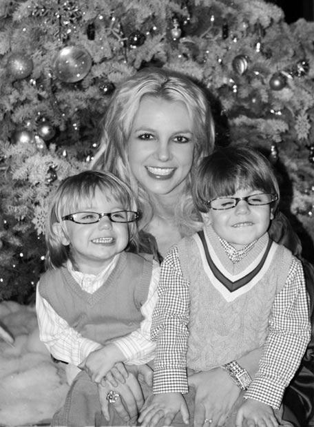 Britney Spears envía saludos por navidad