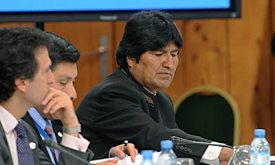 Evo Morales expropia tierras de opositor poltico