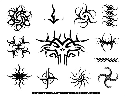 Easy to Draw Tribal Tattoo Designs