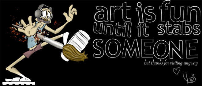 Art is fun until it stabs someone