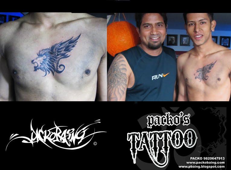 Leo symbol hip tattoo. leo ta2 (new mumbai kharghar).
