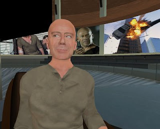 bruce+willissl DIE HARD Q&A Session Second Life