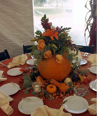 Fall Wedding Reception