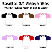 I love the way those fun baseball tees look. I have been back and forth with .