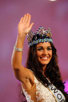 Kaiane Aldorino :Miss world 2009