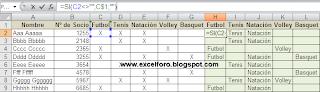 Reordenación de listados en horizontal.