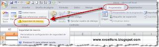 Configuración de la seguridad de macros en Excel