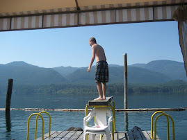 Diving Board Sproat Lake