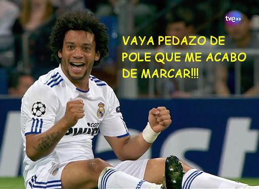 marcelo real madrid pole