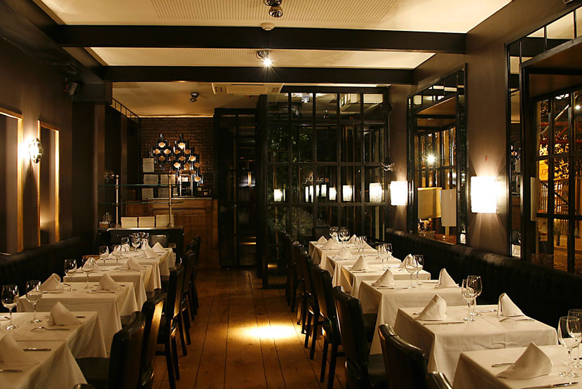 Pen lope glamour y las compras locas para comer entre for Como disenar un restaurante