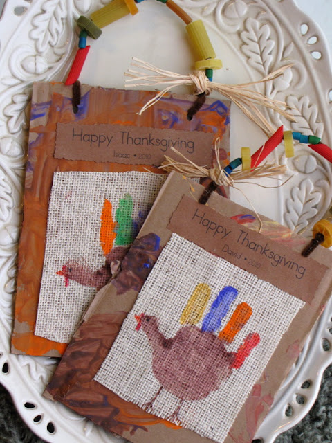 Handprint Turkey Keepsake