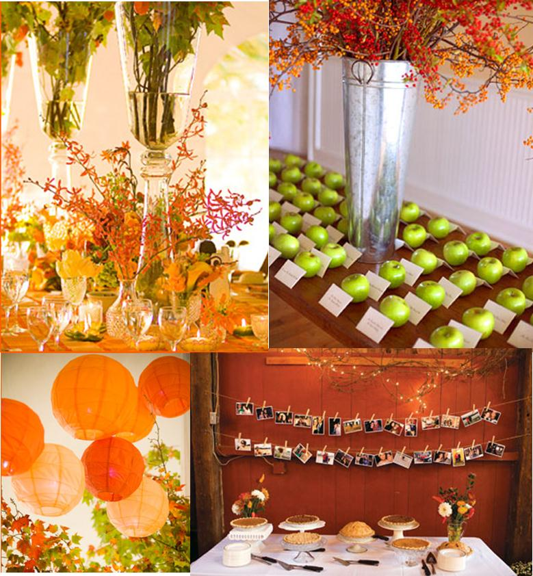 November Wedding Ideas: Details: Fall Wedding Ideas