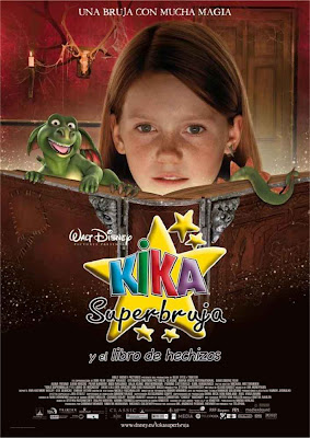 Kika superbruja y el libro de hechizos cine online gratis