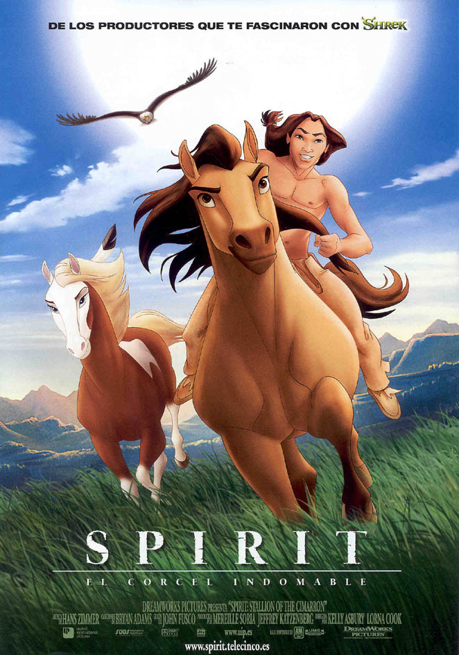 Spirit, el corcel indomable (2002)