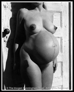 Mujer embarazada de Imogen Cunningham