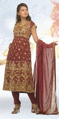 Designer Anarkali Churidars, Fashionable Designers Dresses for Girls