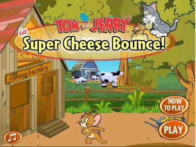Labels Cartoon Games Play Tom And Jerry Super Cheese Bounce